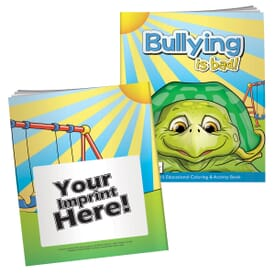 Bullying Is Bad Coloring Book With Mask