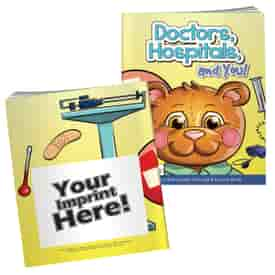 Doctors, Hospitals And You Coloring Book With Mask