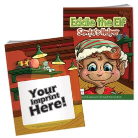 Eddie The Elf Coloring Book With Mask