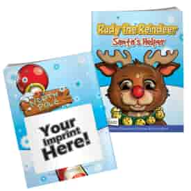 Rudy The Reindeer Coloring Book With Mask