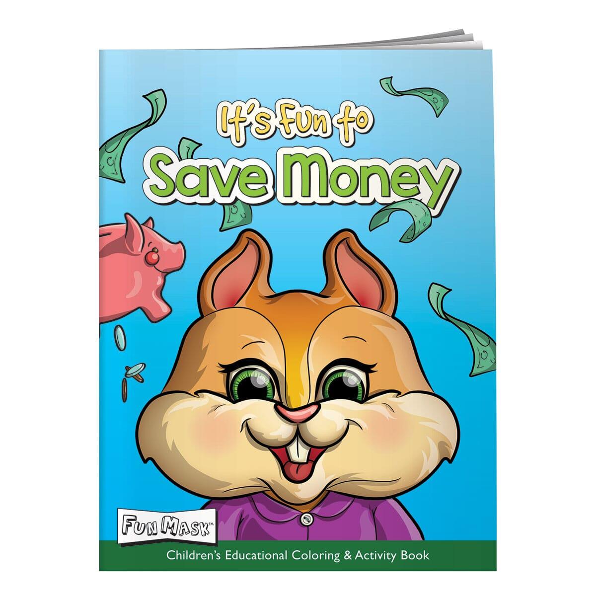 fun money activity book for banks