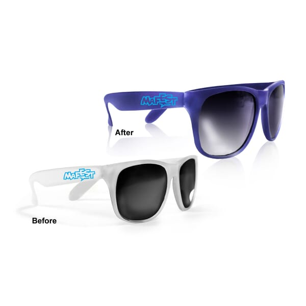 Defensive Color-Changing Sunglasses