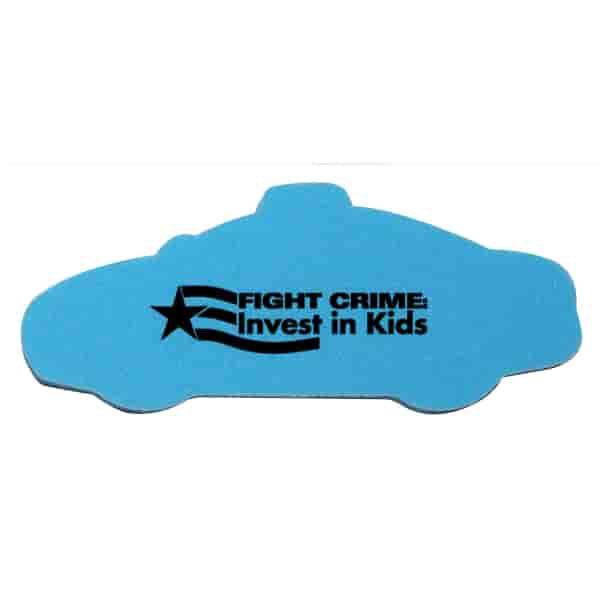 Die Cut Eraser-Police Car
