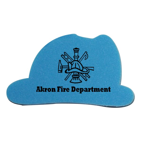 Die Cut Eraser-Fire Helmet