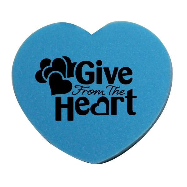 Die Cut Eraser-Heart