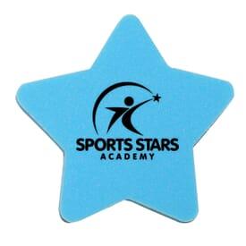 Die Cut Eraser-Star