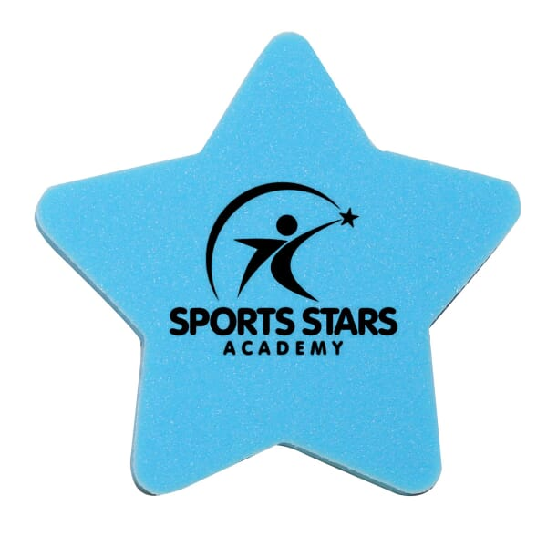 Die Cut Eraser-Star