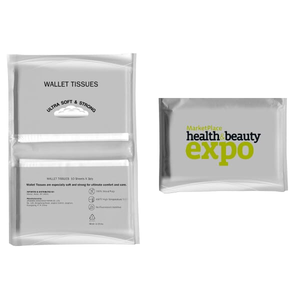 Tissue Packet - Full Color