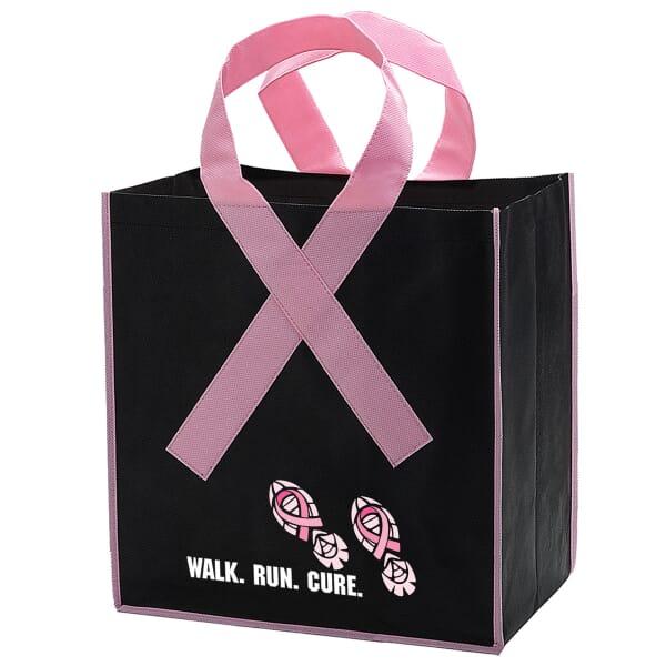Awareness Ribbon Grocery Tote