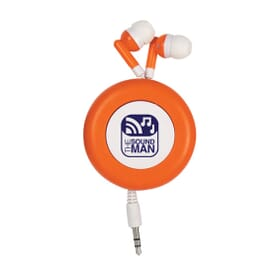 Metro Retractable Earbuds