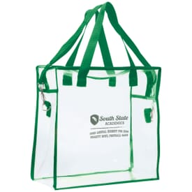 Transparent Sports Tote