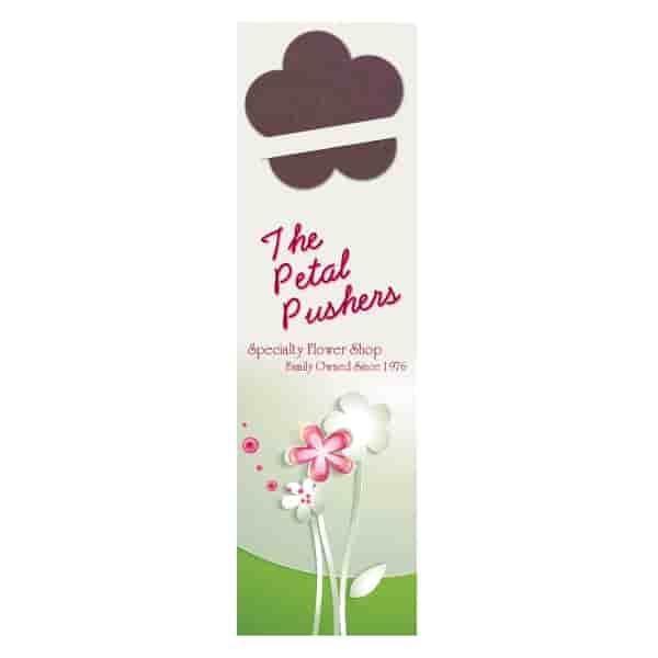 Growing Flowers Bookmark