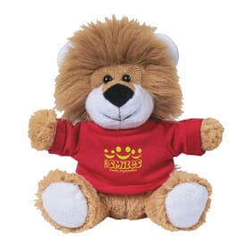 "6"" Captivating Lion W/ Shirt"