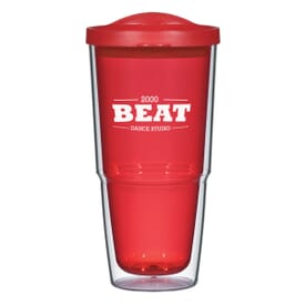 24 oz Mirage Tumbler with Lid