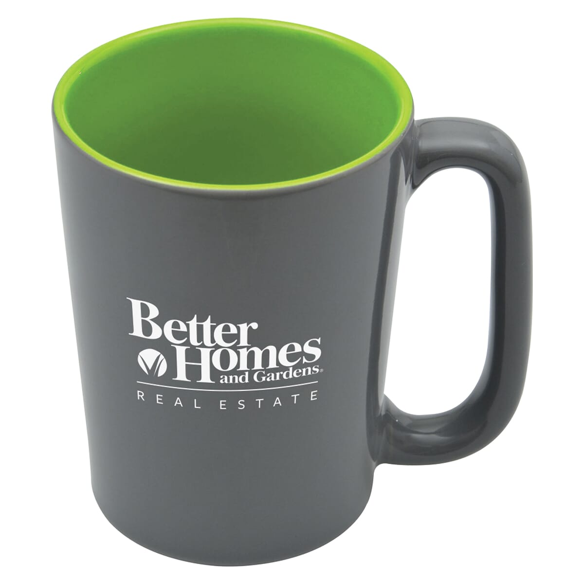 Coffee mug with colorful inside