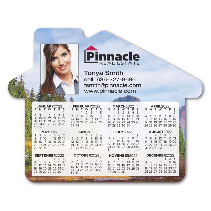 Hcc Calendar 2022.2022 House Shaped Calendar Magnet Promotional Giveaway Crestline