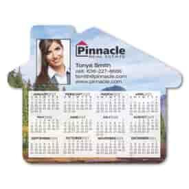 2022 House Shaped Calendar Magnet
