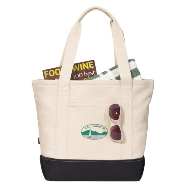 Zipping Cotton Tote