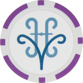 Terra Cotta Poker Chip