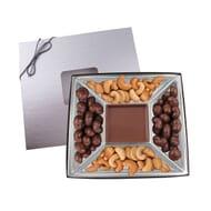 Chocolate and cashew gift box