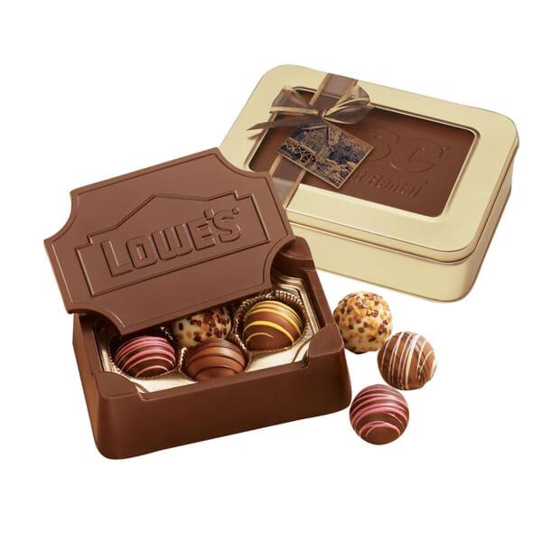 Large Chocolate Truffle Box