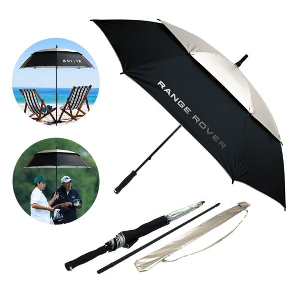 The Golf/Beach Sun Protector Set - Vented U/V Blocking Umbrella