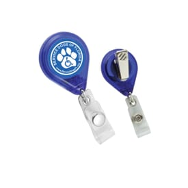 Attention Here! Retractable Badge Holder