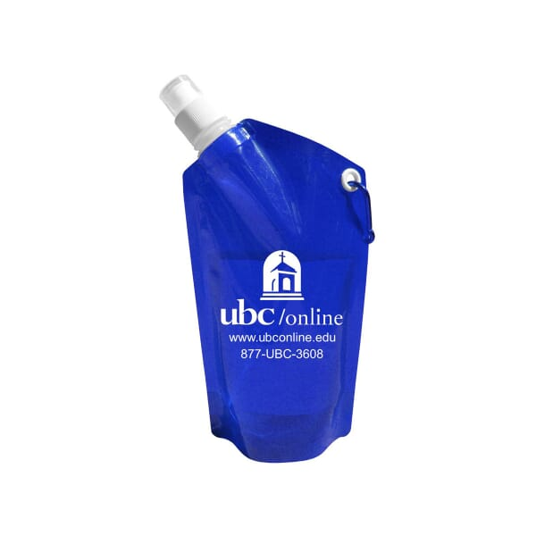 28 oz Collapsible Water Bottle