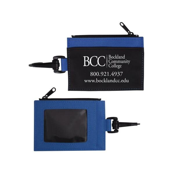 Zippered Clip Wallet