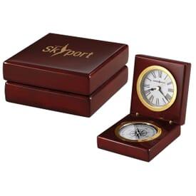 Adventure Seeker Compass Clock