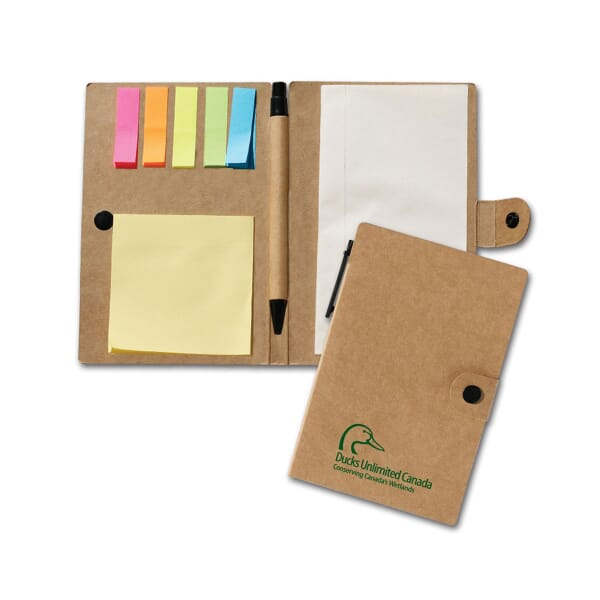 Jotter, Sticky Pad, And Flags Set
