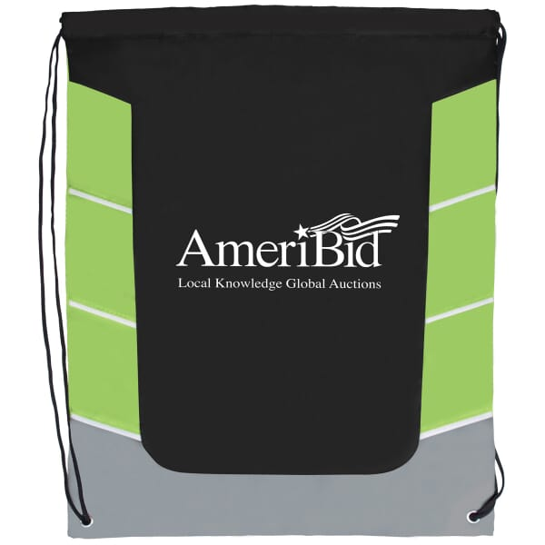 Color Skid Drawstring Bag