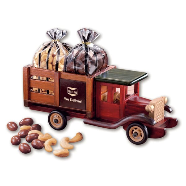 Chocolate Almond And Cashews Truck Model