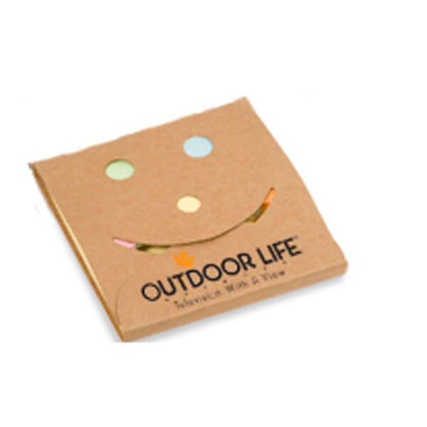 Big Smile Sticky Note Pad