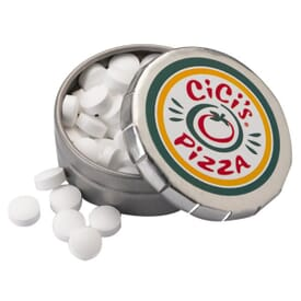 Sugar-Free Mints In Small Push Tin