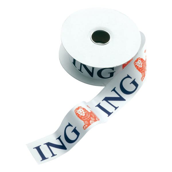 "1 1/2"" Promotional Satin Ribbon on Spool"