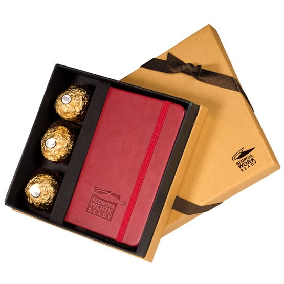 Ferrero Rocher Chocolate and Notebook Set