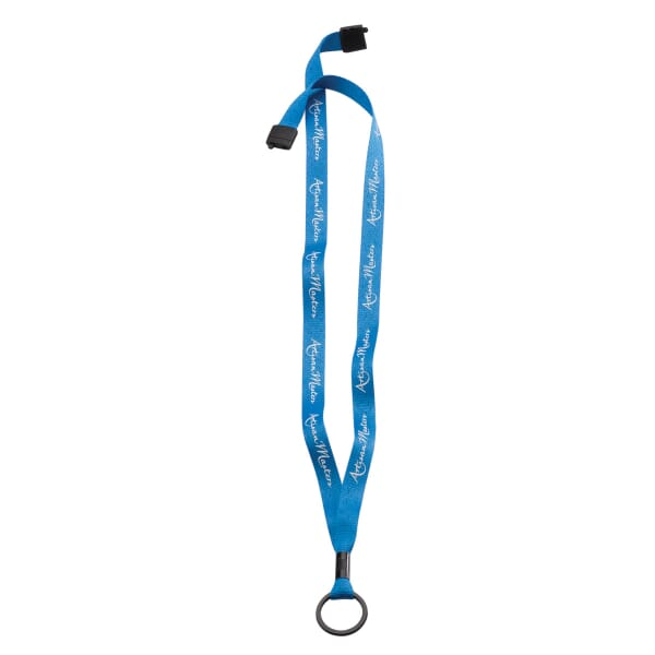 Metal Crimp And Ring Economy Convenience Lanyard