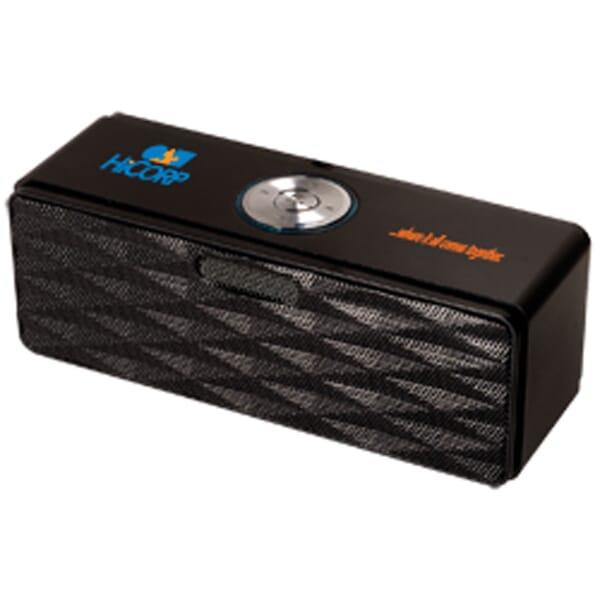 Bluetooth® Mini-Boom Speaker/FM Radio