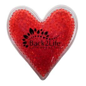 Gel Droplet Hot/Cold Pack - Heart