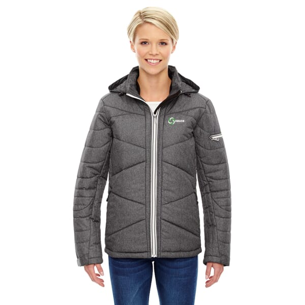 North End Sport Blue Avant Insulated Jacket- Ladies'