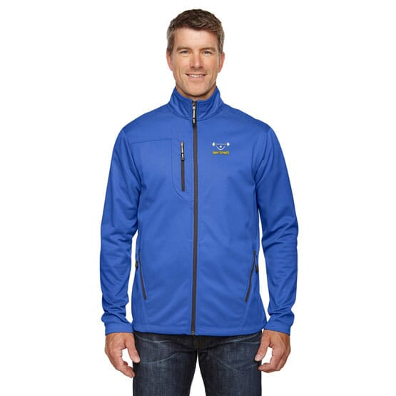 North End Trace Printed Fleece Jackets-Men's