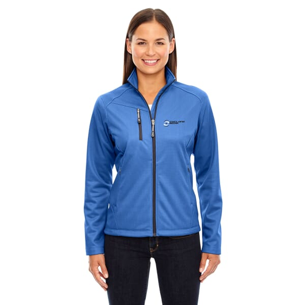 North End Trace Printed Fleece Jackets-Ladies'