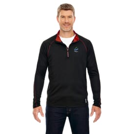 North End Radar Half-Zip Performance Top-Men's