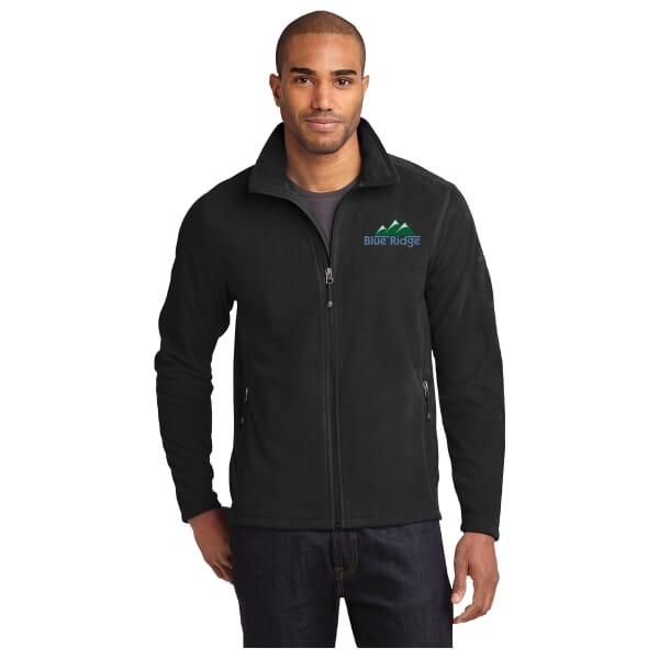 Eddie Bauer® Full Zip Microfleece Jacket-Men's