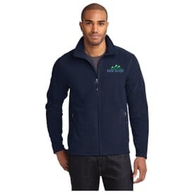 Eddie Bauer® Full Zip Microfleece Jacket-Men'S
