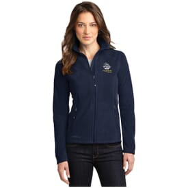 Eddie Bauer® Full Zip Microfleece Jacket-Ladies'
