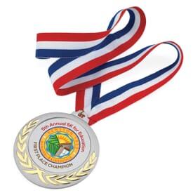 Wreath Tribute Medal