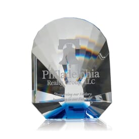 Ocean Treasure Paperweight Award