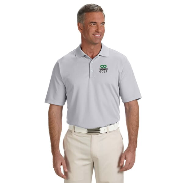 Adidas® Golf Climalite® Solid Polos- Men's